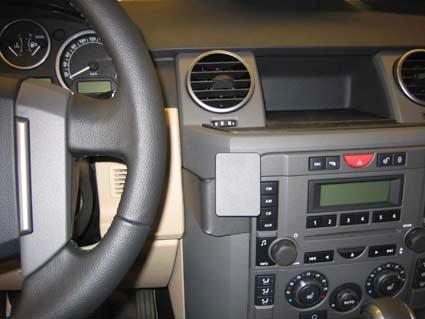 Brodit крепежный комплект центральный Land Rover Discovery 3 05-09, цвет: черный. 853572853572Крепежный комплект центральный для Land Rover Discovery 3 05-09, цвет: черный. 853572 На автомобильный крепежный комплект Brodit устанавливается держатель Brodit для конкретной модели мобильного устройства. Держатель продаётся отдельно. Держатели и установочные комплекты Brodit совместимы между собой.