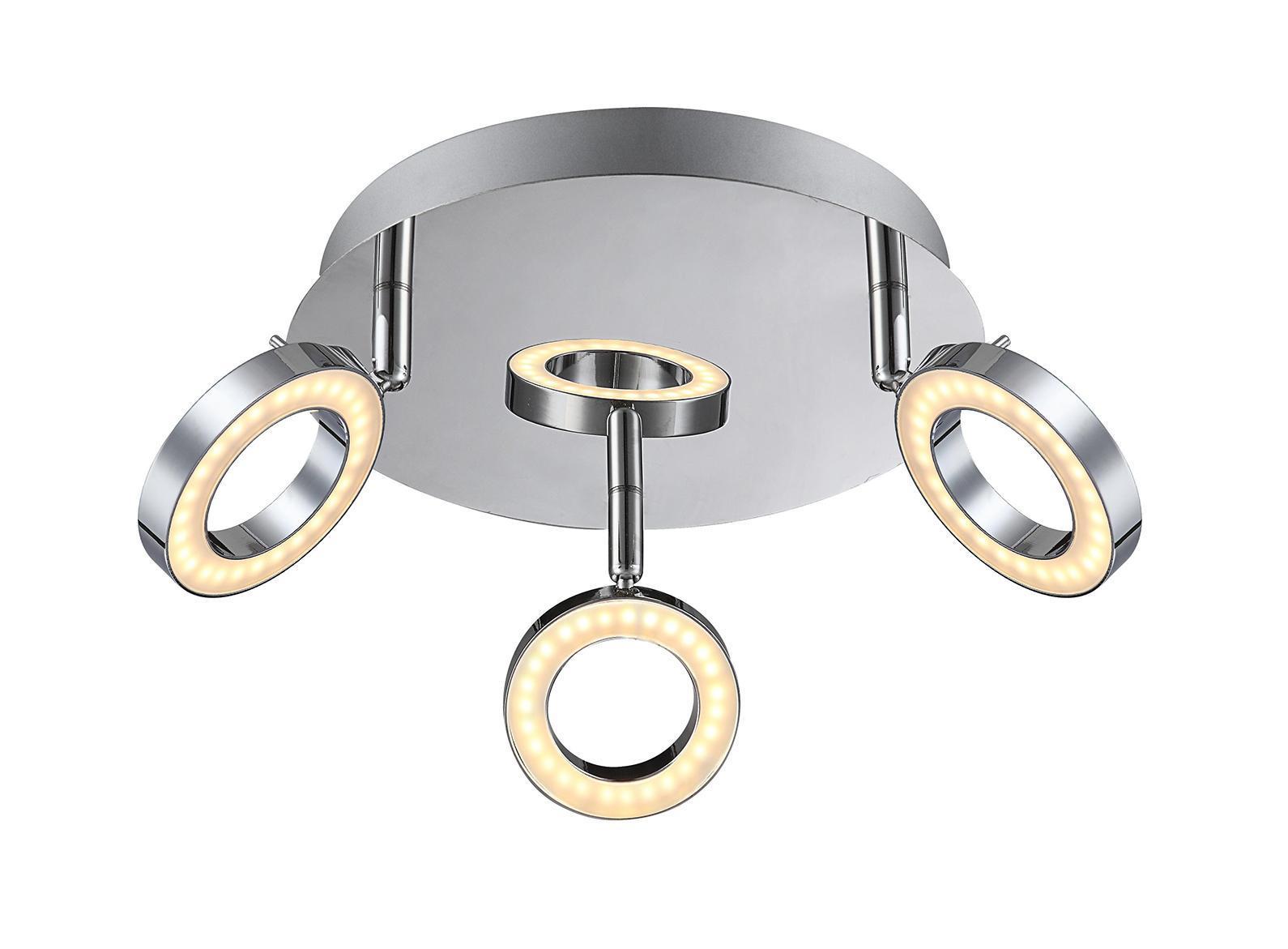 56107-3 ORELL Спот56107-3Подвесной светильник ORELL 56107-3 идеально подойдет для интерьеров в стиле модерн. Основные элементы светильника Globo Orell изготовлены из следующих материалов: металл, акрил.