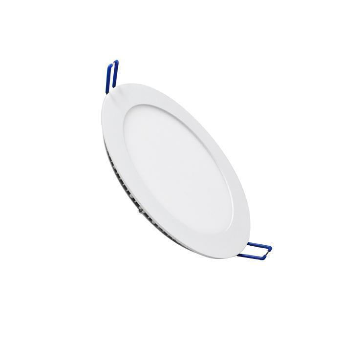 Светильник встраиваемый светодиодный тонкий круг 10W 2800K 700lm теплый белый D= 180mm - цвет белый20111,DL-11Светодиодные лампы ESTARES 20111, в отличие от люминесцентных ламп, не имеют ртутной составляющей, что делает их более безопасными при использовании.