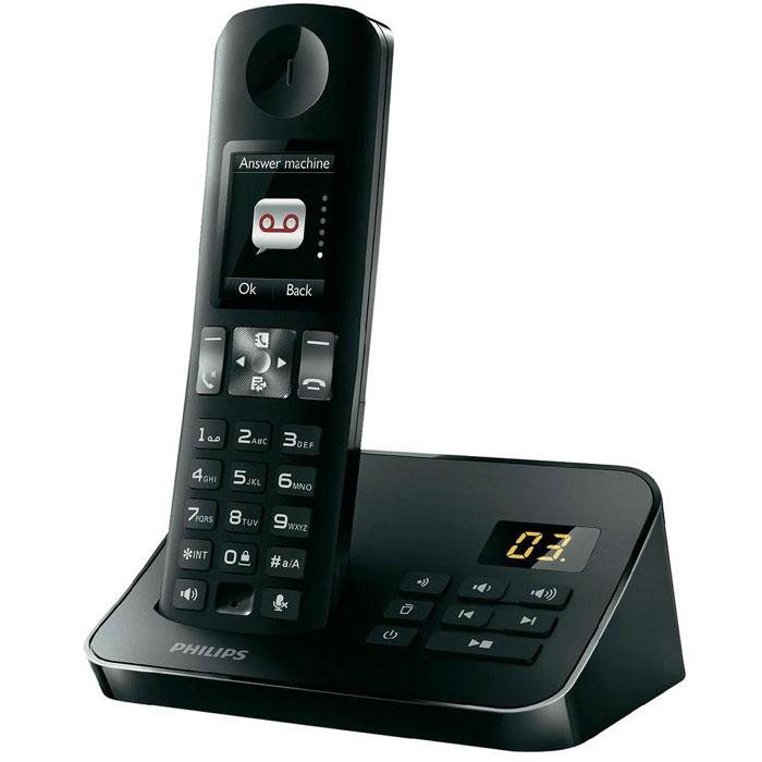 Philips D6051B, Black DECT телефон с автоответчикомD6051B/51Великолепное качество звука в сочетании с эргономичным и современным дизайном. У телефона Philips D6051B есть все, что вам нужно: большой полноцветный дисплей и расширенный набор функций, такие как подсветка клавиатуры, настройки конфиденциальности, радионяня и автоответчик. Функция Радионяня: Получайте уведомления, когда ребенок нуждается в вас. Просто установите трубку DECT в детской комнате и, если ребенок заплачет, вы получите уведомление на базу или другой телефон DECT (например, на другой стационарный номер) либо на мобильный телефон (если вы вышли). Настройки конфиденциальности: Хотите, чтобы лишний раз вас не беспокоили дома? Просто отключите сигнал в часы отдыха и наслаждайтесь тишиной и покоем. Дополнительная функция фильтрации входящих вызовов позволяет выбрать любой номер из телефонной книги, при поступлении вызова с которого звонок будет слышен. Так вы можете быть уверены, что те, кого вы хотите слышать, дозвонятся вам....