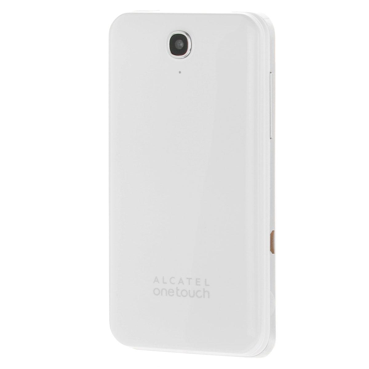 Alcatel OT-2012D Dual Sim, Pure White