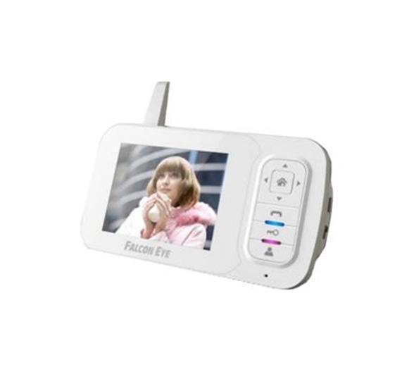 Falcon Eye FE-35WI беспроводной видеодомофон4627072781062Цветной беспроводной Видеодомофон Falcon Eye 35WI работает по принципу радиотелефона. Это позволяет избежать трудностей при прокладке кабеля, так как видеодомофон связывается с вызывной панелью по радиоканалу на частоте 2400~2483.5MHz. Видеодомофон отличается широкими возможностями контроля над доступом на территорию и идеально подойдет для установки в загородном доме. Четкая картинка на экране и функция Hands Free позволят Вам увидеть и поговорить с посетителями. Кнопка управления электрозамком дает возможность открыть дверь дистанционно. Функция видео/фото записи позволит вам быть в курсе что происходило за дверью в ваше отсутствие. Функция записи по детектору движения. Запись ведется на microSD карточку. А так же к видеодомофону FE-35WI подключаются 3 беспроводных видеокамеры (WiCAM) со встроенным микрофоном. Таким образом подключив к видеодомофону одну Вызывную панель и три беспроводных видеокамеры, вы можете организовать компактную и удобную системы видеонаблюдения, с...