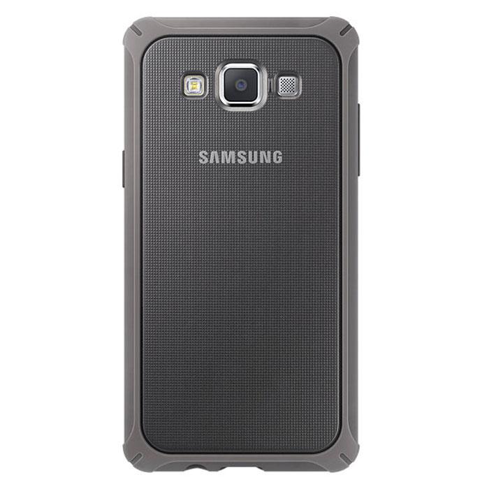 Samsung EF-PA500B Protective Cover чехол для Galaxy A5, Brown GrayEF-PA500BAEGRUЗащитный чехол Samsung EF-PA500B для Galaxy A5 изготовлен из прочного полиуретана, что позволяет ему защитить ваше устройство от внешних повреждений.
