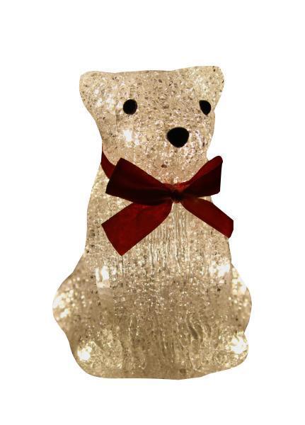 Светодиодная фигурка Kosmos Медведь, 15 смKOC_BEAR16LED_WСветодиодная фигурка Kosmos Медведь предназначена для украшения праздников. Если перегорает 1 светодиод, остальные продолжают работать.