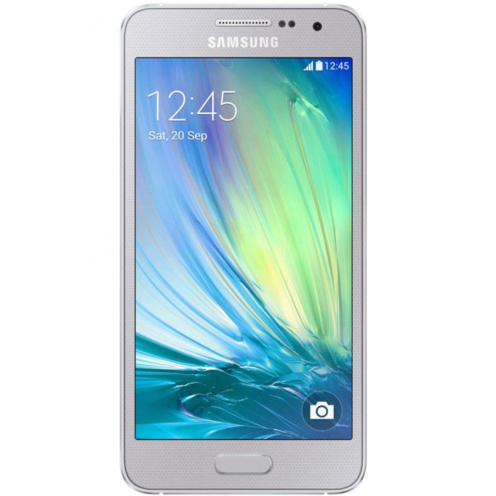 Samsung SM-A300F Galaxy A3, SilverSM-A300FZSDSERSamsung SM-A300F Galaxy A3 - это первый смартфон Samsung в цветном металлическом корпусе, отличающийся роскошным инновационным дизайном и великолепным 4,5-дюймовым qHD sAMOLED экраном. Телефон оснащен гибридным слотом для второй SIM-карты, в который можно вставить или SIM-карту, или карту памяти microSD объемом до 64 ГБ. Ваши вытянутые вперед руки еще не означают, что снимок безнадежно испорчен. При съемке селфи вам можно и не касаться кнопки. Делайте селфи с помощью голосовой команды или жеста рукой и пусть ваши друзья думают, что вас снимал ваш персональный фотограф. Новый режим широкоугольного селфи позволяет создавать селфи панорамного типа путем объединения трех снимков, сделанных слева, в центре и справа. Теперь вы можете сделать снимок селфи с углом охвата 110° в портретной ориентации камеры или 120° в альбомной. А функции авторедактирования помогут сделать каждый снимок более профессиональным. Функция Adapt Display настроят параметры...