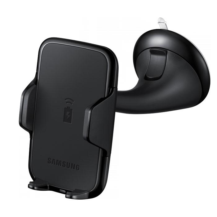 Samsung EP-HN910, Black автомобильный держатель для смартфонов с беспроводной зарядкойEP-HN910IBRGRUАвтомобильное крепление Samsung EP-HN910 для мобильного телефона с поддержкой функции беспроводной зарядки. Подходит к большинству смартфонов.