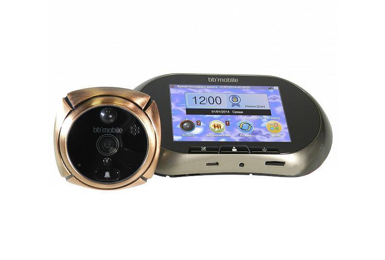 Дверной GSM ГлазОК, BronzeGSM ГлазОК (бронзовый)На экране устройства посетители легко различимы и для детей небольшого роста и для людей со слабым зрением. Если за дверью темно, ГлазОК компенсирует недостаток освещения собственной инфракрасной подсветкой. К тому же, использование электроники не позволяет снаружи определить, по перепадам света и тени, находится ли кто-то внутри, что, зачастую, может оказаться очень полезным.