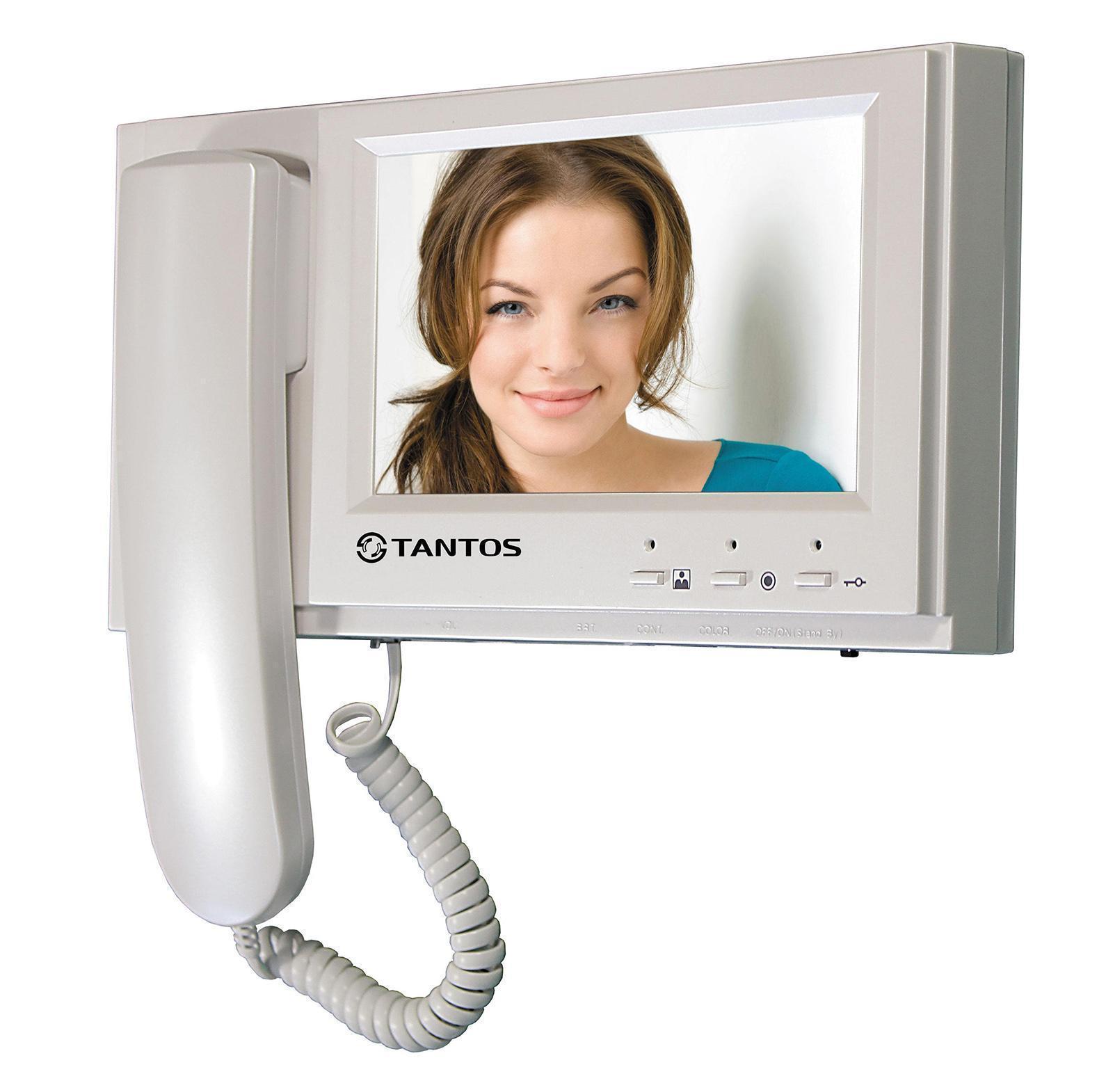 Tantos Loki - SD, White монитор домофона00-00016179Классический вариант монитора 7 дюймов с трубкой и записью кадров на SD карту. Ничего лишнего, идеальный вариант для офиса или квартиры с пожилыми людьми. Видеодомофон позволяет осуществлять внутреннюю видеосвязь между абонентами жилого помещения. Предназначен для возможности дистанционного наблюдения пространства перед входной дверью и организации двухсторонней аудио связи с посетителем. К монитору подключаются все самые распространенные вызывные панели отечественных и зарубежных производителей. Соединение с панелями 4-х проводное. Так же возможно подключение дополнительного оборудования: видеокамеры, вызывные панели или мониторы. Это поможет Вам с максимальной эффективностью построить современную систему видеонаблюдения на базе видеодомофона Loki - SD. Вся информация записывается на съемную карту памяти стандарта SD емкостью до 32 Гб.