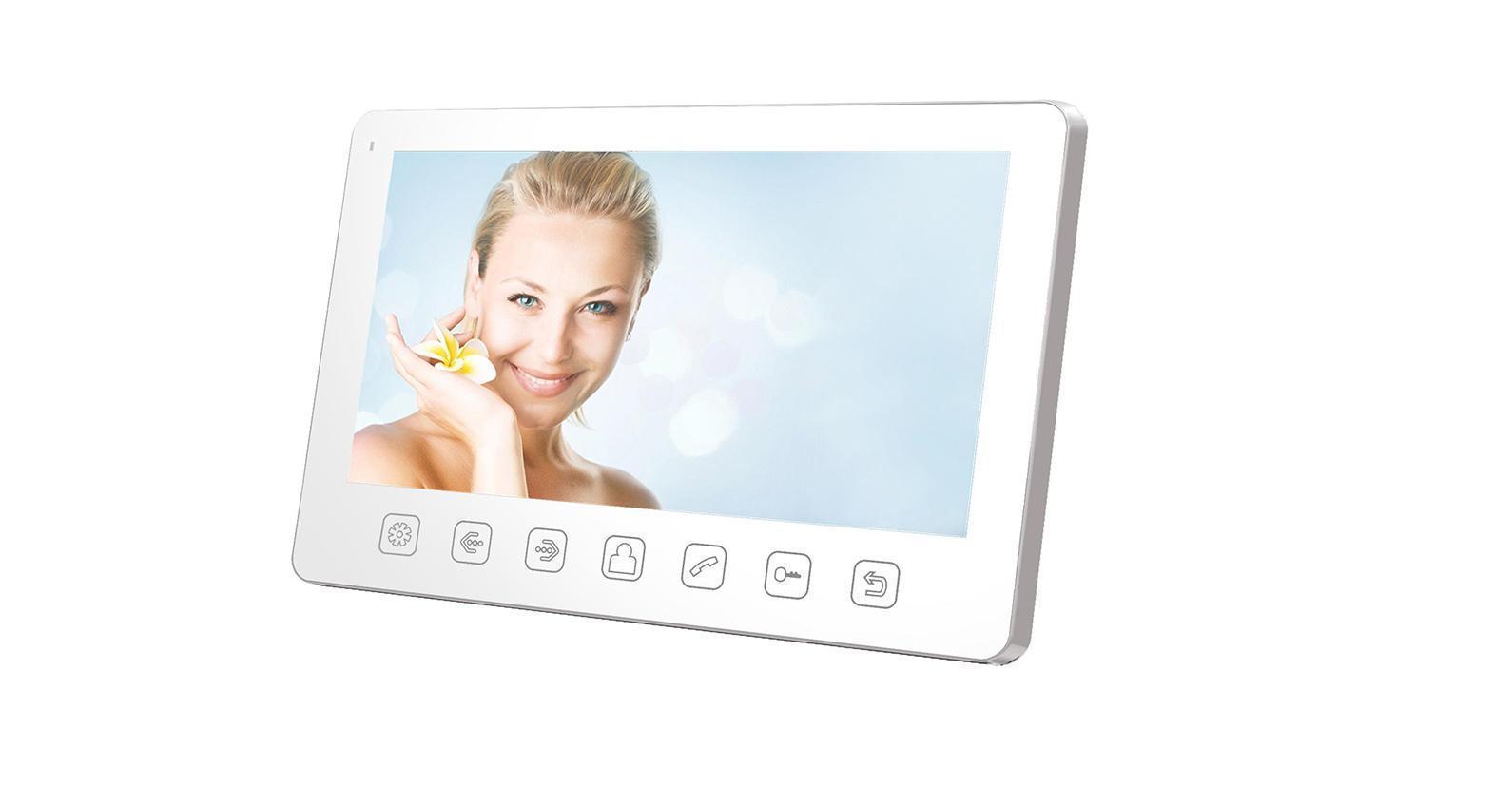 Tantos Amelie Slim, White монитор видеодомофона 00-00016195
