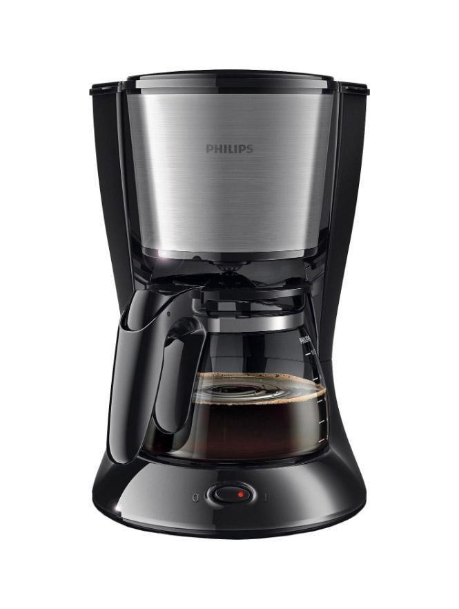 Philips HD7457/20 капельная кофеваркаHD7457/20Наслаждайтесь отличным кофе благодаря надежной кофеварке Philips HD7457/20 со стильным дизайном и компактной конструкцией, которая обеспечивает удобство хранения. Индикатор уровня воды Чтобы вам было удобно следить за объемом воды в резервуаре, компания Philips разработала инновационный индикатор. Система капля-стоп Система капля-стоп позволяет в любой момент прервать приготовление и налить в чашку ароматный кофе. Удобство очистки Для удобной очистки все детали этой кофеварки Philips можно мыть в посудомоечной машине. Объем 1,2 л на 10–15 чашек Кувшин кофеварки рассчитан на 1,2 л кофе, то есть на 10–15 чашек (в зависимости от размера чашки)