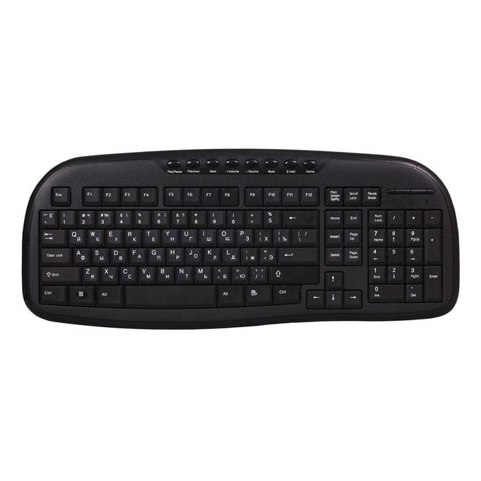 Smartbuy SBK-205U-K, Black проводная клавиатураSBK-205U-KКлавиатура SmartBuy SBK-205U-K имеет оптимальный набор клавиш. Она имеет привычное проводное подключение к ПК через USB-порт. Клавиатура прекрасно подойдет для офиса и для дома. Данная модель выполнена из высококачественных материалов.