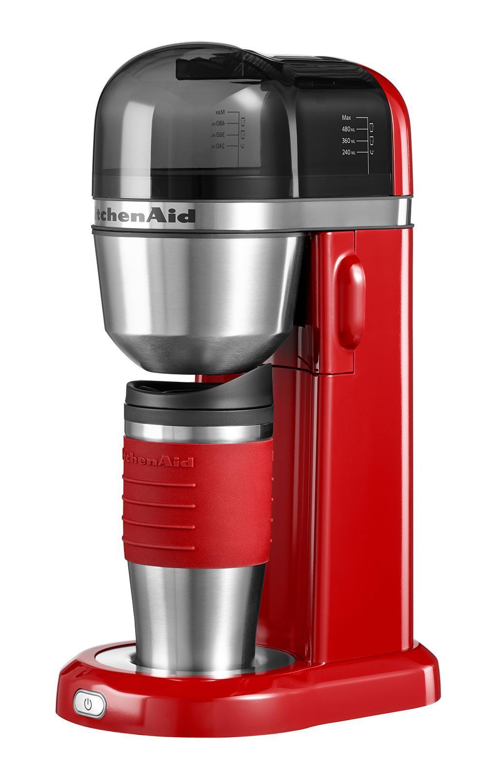 KitchenAid (5KCM0402EER), Red кофеварка