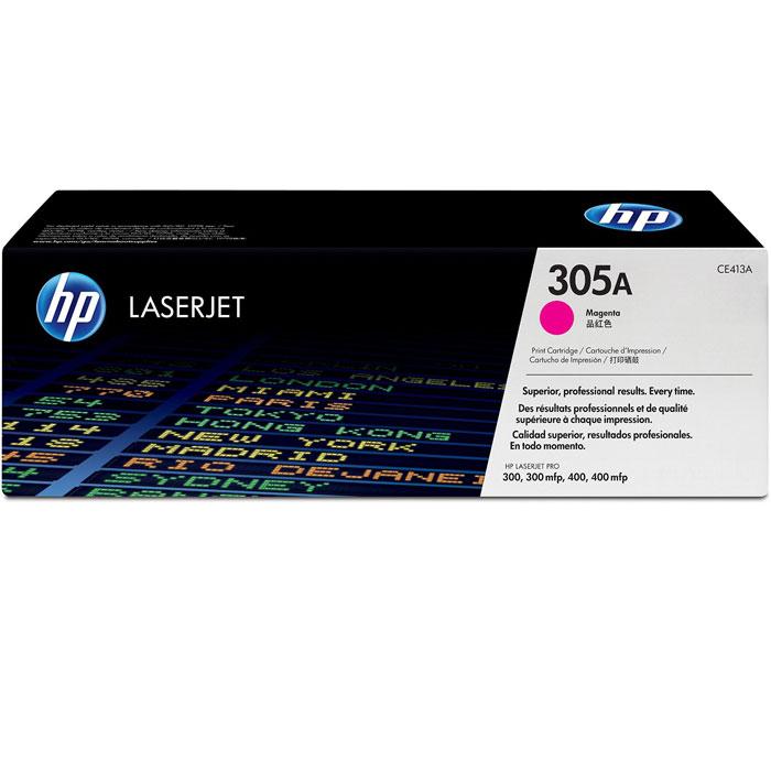 HP CE413A (305A), Purple картридж для лазерных принтеровCE413AПурпурный картридж с тонером HP 305A LaserJet помогает создавать документы и маркетинговые материалы профессионального уровня. Поддержка достигнутого уровня производительности путем экономии времени и расходных материалов. Эти картриджи специально разработаны для использования с вашим принтером HP LaserJet Pro.