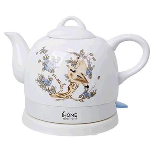Home Element HE-KT-135, White Beige чайник электрический