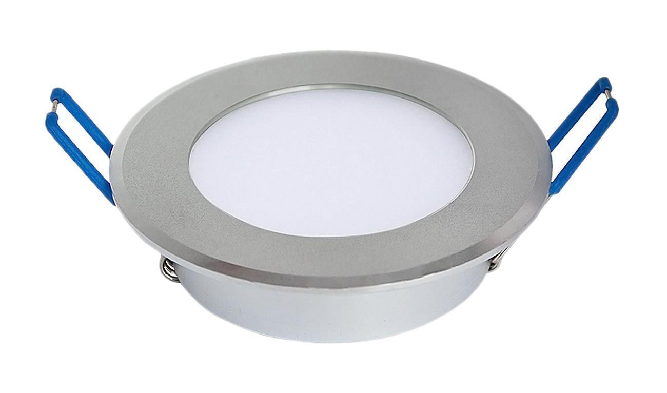 Встраиваемый потолочный светодиодный светильник Elektrostandard DLL 110 6500Ka025545Мощность: 11 Вт Свет: 6500K белый Светоотдача: 880 лм Угол рассеивания света: 170° Питание: 100 – 240 В 50 Гц Срок службы: 50 000 ч Рабочий диапазон температуры: -20 ... +40 °С Размер светильника: 110 x 110 x 23 мм Диаметр монтажного отверстия: 95 мм