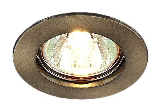 Точечный светильник Elektrostandard 863A SB (бронза)a030071Лампа: MR16 G5.3 max 50 Вт Диаметр: O 76 мм Высота внутренней части: ^ 21 мм Высота внешней части: v 3 мм Монтажное отверстие: O 60 мм Гарантия: 2 года