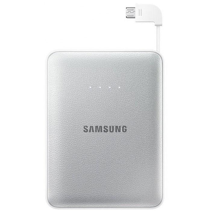 Samsung EB-PG850B, Silver внешний аккумуляторEB-PG850BSRGRUSamsung EB-PG850BCRGRU Pink Fox - это не просто внешний аккумулятор, но и самое настоящее украшение вашей сумки, а также забота о природе и вымирающих животных. Часть доходов от продажи этого устройства производитель направляет на сохранение вымирающих видов. Используемая в этой модели батарея обладает высокой емкостью 8400 мАч, чего достаточно для зарядки нескольких устройств. Причем делать вы можете это даже одновременно: Samsung EB-PG850B поддерживает параллельное подключение двух заряжаемых гаджетов, 5-уровневый индикатор показывает степень разряженности аккумулятора. Проверить состояние устройства можно одним нажатием клавиши. Аккумуляторные элементы Samsung SDI, используемые в этой модели, прошли тщательные испытания под контролем технических специалистов Samsung. Поэтому вы можете не волноваться о надежности устройства
