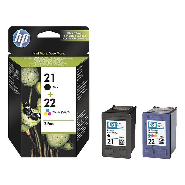 HP SD367AE (21) (C9351АE/C9352AE), Black Сolor картриджи для струйного принтера
