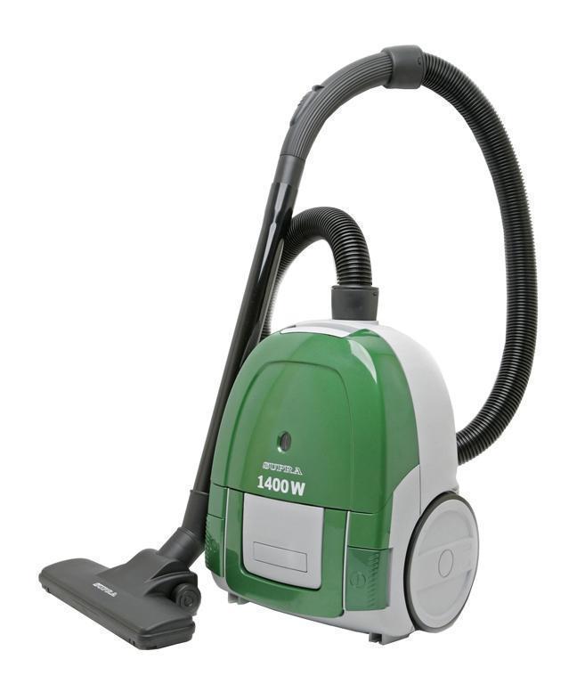 Supra VCS-1475, Green пылесосSupra VCS-1475, GreenПылесос Supra VCS-1475 удаляет пыль и грязь с большой скоростью. Мощность всасывания 350 Вт - обеспечивает высокое качество уборки. Важно отметить превосходное соотношение мощности всасывания и потребляемой мощности (1400 Вт). Длина сетевого шнура, равная 4 метрам, даёт возможность свободно перемещаться по убираемой территории. Индикатор заполнения пылесборника позволяет ориентироваться в степени наполненности мешка и своевременно заменить его.