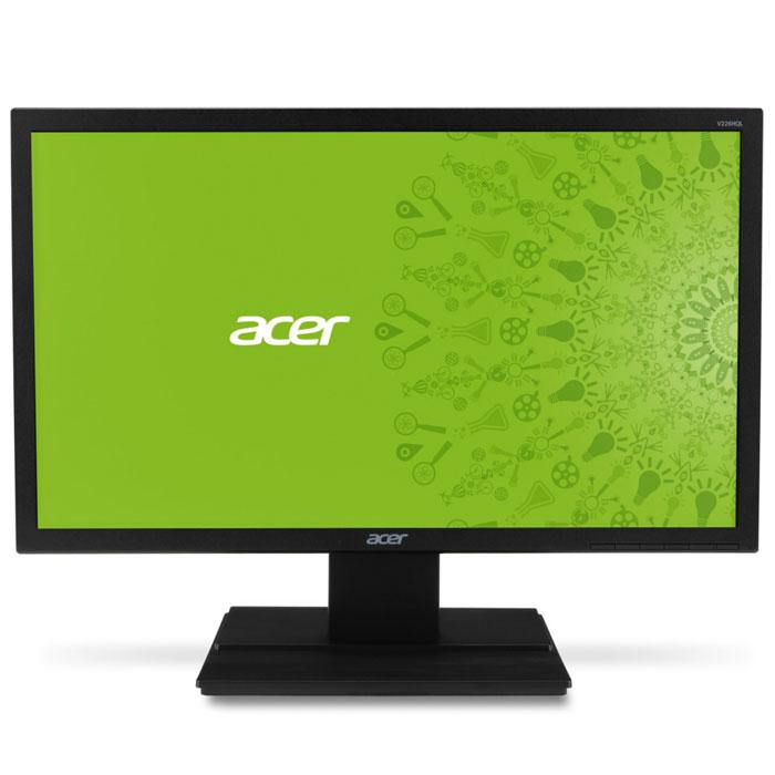 Acer V226HQLBBD, Black монитор