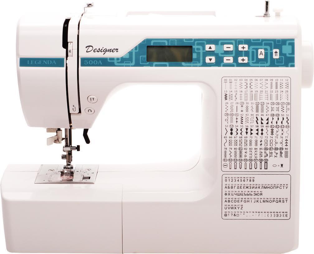 Legenda 500А швейная машинаLegenda 500АСамая современная электронная компьютерная швейная машинка с программным управлением операциями. В отличии от управления через механические копиры, операции осуществляются по команде компьютера шаговыми двигателями.