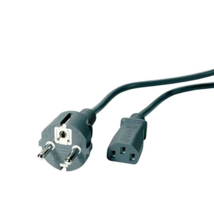 Vivanco кабель питания для мониторов, 1.8 м19384Кабель питания Vivanco для подключения монитора к сети 220В.