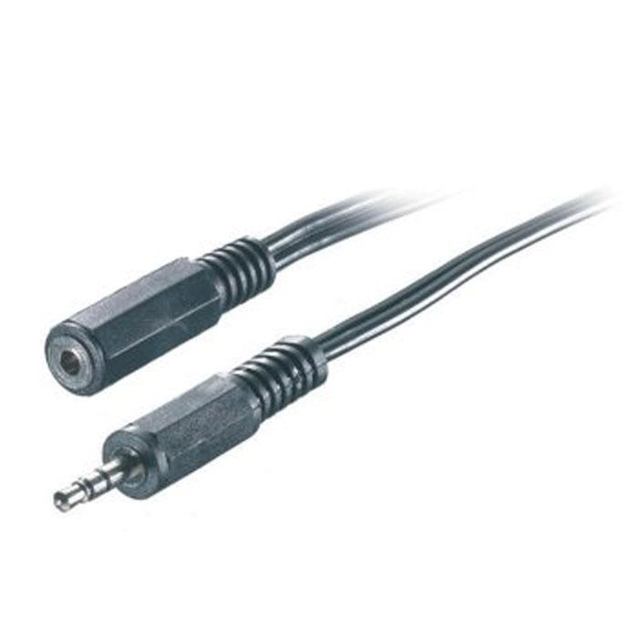 Vivanco аудиоудлинитель, стерео, 2.5 м19369Vivanco аудиоудлинитель 3.5 мм предназначен для всех аудиоустройств.
