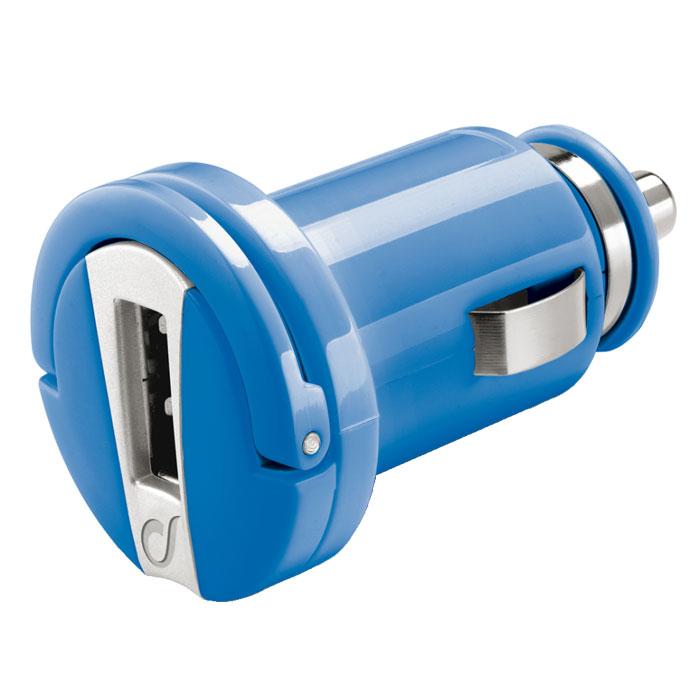 Cellular Line USB Car Charger Micro (20294), Blue автомобильное зарядное устройство