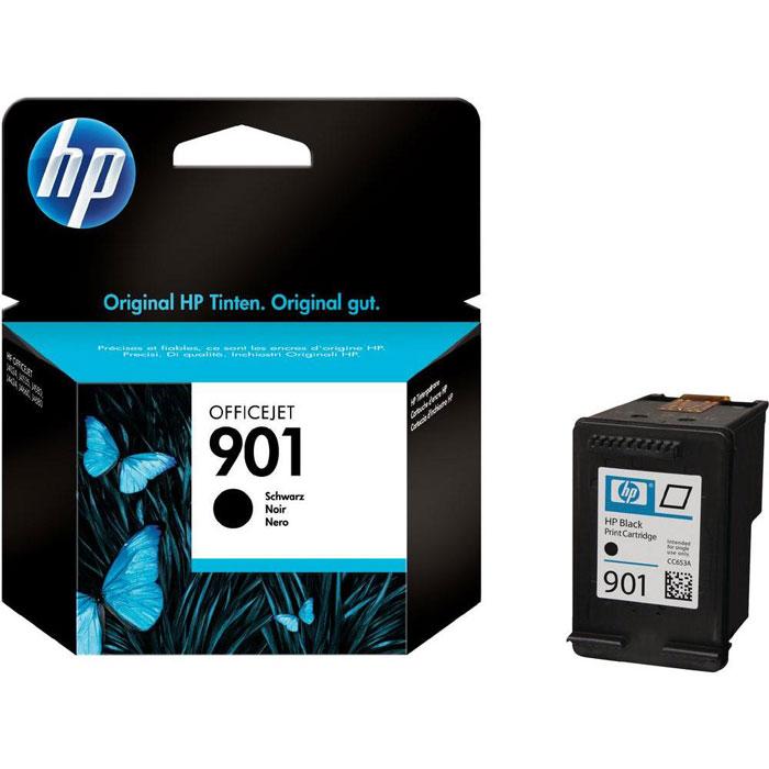 HP CC653AE (901), Black струйный картридж для OfficeJet 4500/J4580/J4660CC653AEЧерные картриджи HP 901 Officejet обеспечивают доступную высококачественную печать черно-белых документов, используя чернила HP Officejet. Чернила HP Officejet - это непрерывная и надежная производительность, понятные пользователю функции и черно-белый стойкий к выцветанию текст лазерного качества.
