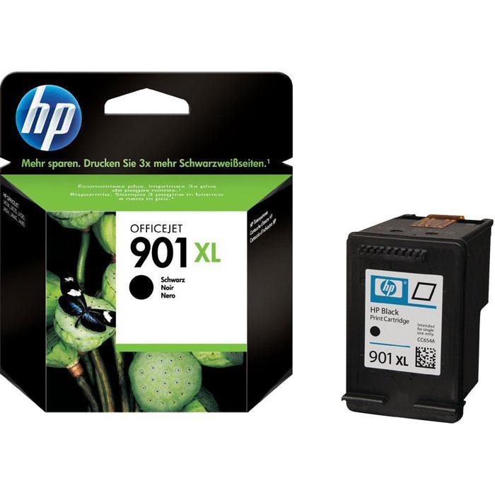 HP CC654AE (901XL), Black струйный картридж для OfficeJet 4500/J4580/J4660CC654AEЧерные картриджи повышенной емкости HP 901XL Officejet обеспечивают доступную печать черно-белых