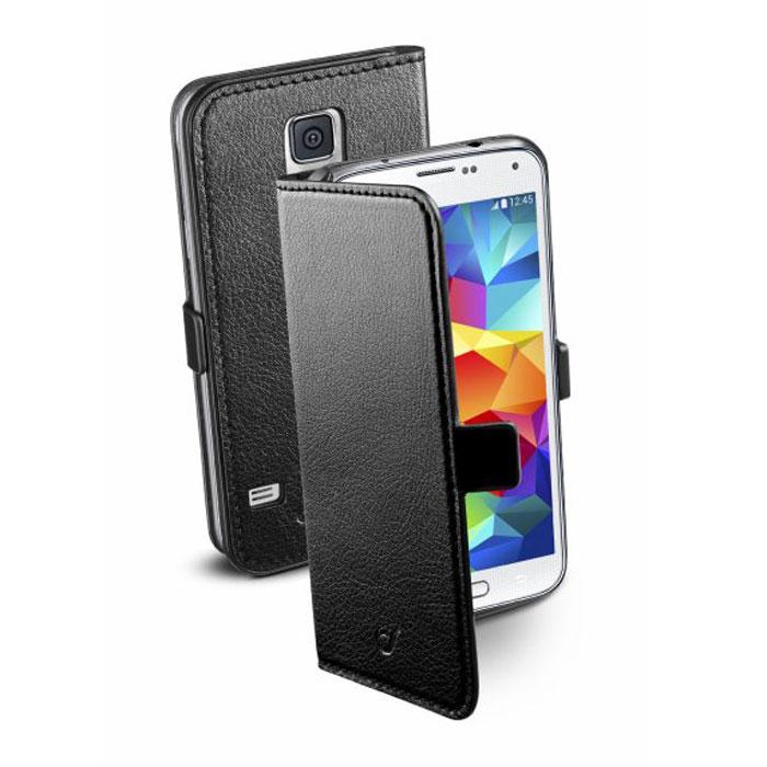 Cellular Line Book Essential чехол для Samsung Galaxy S5 (20686), BlackBOOKESSENGALS5BKCellular Line Book Essential чехол для Samsung Galaxy S5 предназначен для защиты корпуса смартфона от механических повреждений и царапин в процессе эксплуатации.