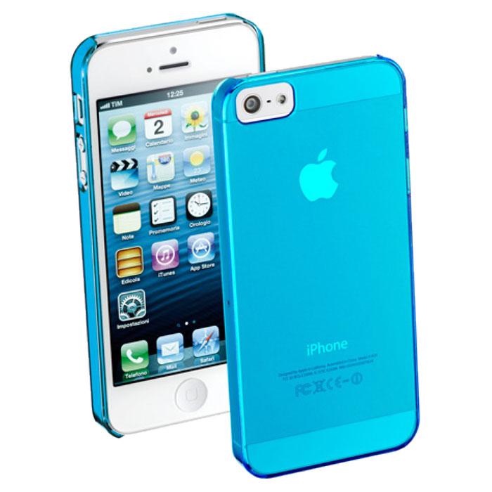 Cellular Line Cool Fluo чехол для iPhone 5/5S, Light BlueCOOLIPHONE5BCellular Line Cool Fluo - стильный и яркий чехол, размер которого практически не превышает параметры самого устройства. Все разъемы и элементы управления смартфоном открыты и легко доступны.