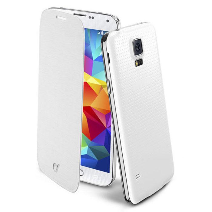 Cellular Line Flip Book чехол для Samsung Galaxy S5 (20683), WhiteBACKBOOKGALS5WCellular Line Flip Book чехол для Samsung Galaxy S5 предназначен для защиты корпуса смартфона от механических повреждений и царапин в процессе эксплуатации.