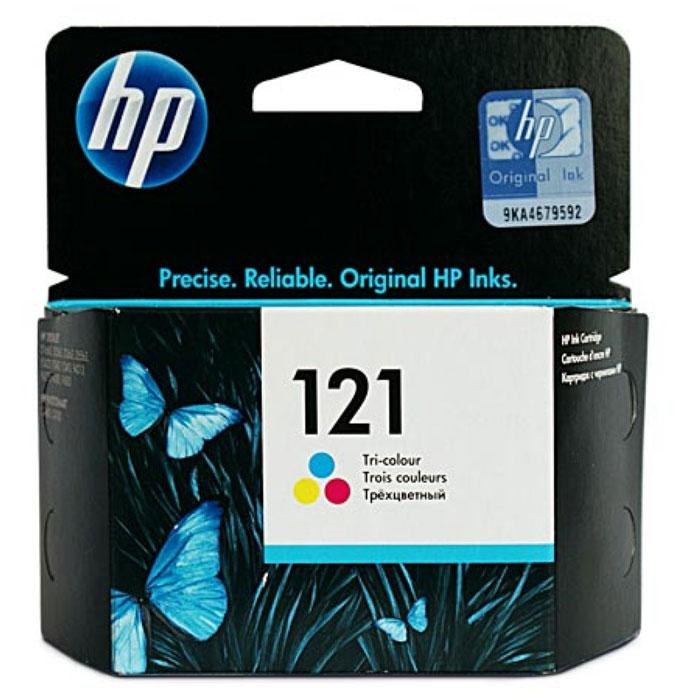 HP CC643HE (121) трехцветный струйный картриджCC643HEТрехцветные картриджи НР 121 позволяют печатать яркие цветные документы, отчеты и письма по приемлемой цене. Этот оригинальный картридж НР имеет понятные пользователю функции и продолжительную, надежную производительность.