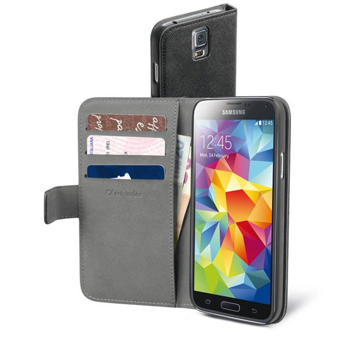 Cellular Line Book Agenda чехол для Samsung Galaxy S5 (20802)BOOKAGENDAGALS5BKCellular Line Book Agenda чехол для Samsung Galaxy S5 предназначен для защиты корпуса смартфона от механических повреждений и царапин в процессе эксплуатации.