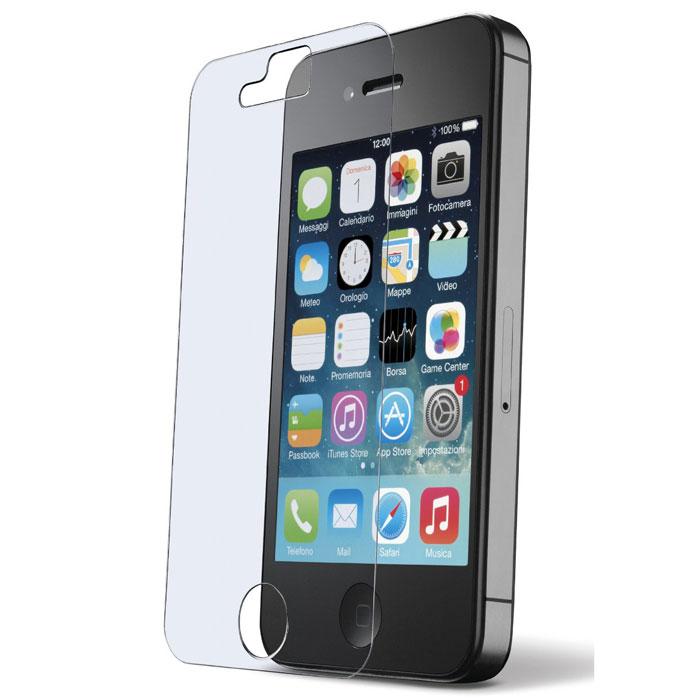 Cellular Line Second Glass защитное стекло для iPhone 4TEMPGLASSIPH4Cellular Line Second Glass - прочная защитная пленка для вашего смартфона. Обеспечивает более высокий уровень защиты по сравнению с обычной пленкой. При этом яркость и чувствительность дисплея не будут ограничены. Препятствует появлению воздушных пузырей и надежно крепится на экране устройства.