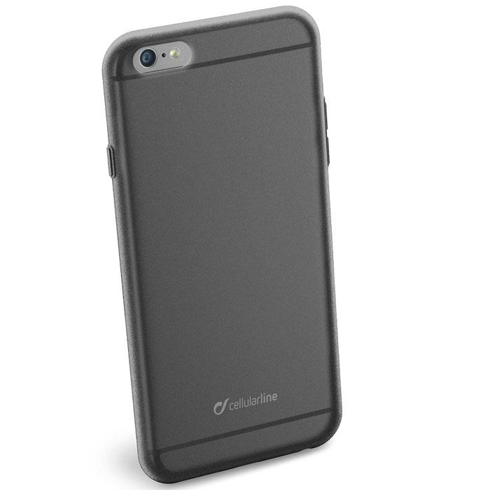 Cellular Line Color Slim чехол для iPhone 6 Plus, BlackCOLORSLIPH655KCellular Line Color Slim - мягкий и качественный полупрозрачный чехол для вашего смартфона в различных цветовых вариациях. Все разъемы и элементы управления устройством легко доступны.