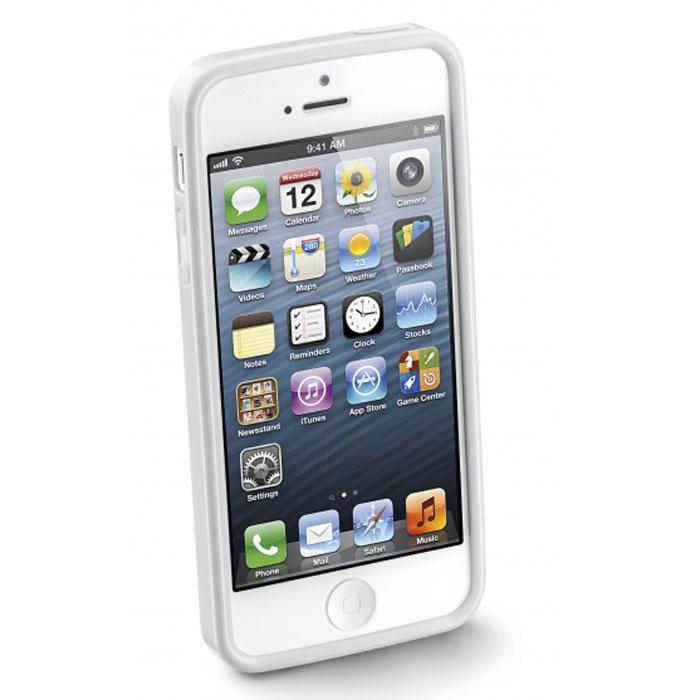 Cellular Line Shocking Case чехол для iPhone 5, WhiteSHCKIPHONE5WCellular Line Shocking Case - качественный защитный чехол для вашего смартфона. Поставляется в комплекте с пленкой для экрана. Все разъемы и элементы управления открыты и легко доступны.