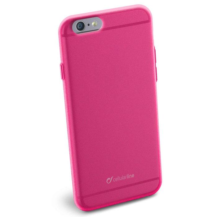Cellular Line Color Slim чехол для iPhone 6, PinkCOLORSLIPH647PCellular Line Color Slim - мягкий и качественный полупрозрачный чехол для вашего смартфона в различных цветовых вариациях. Все разъемы и элементы управления устройством легко доступны.