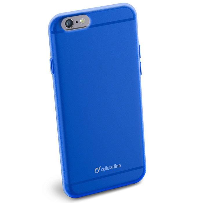 Cellular Line Color Slim чехол для iPhone 6, BlueCOLORSLIPH647BCellular Line Color Slim - мягкий и качественный полупрозрачный чехол для вашего смартфона в различных цветовых вариациях. Все разъемы и элементы управления устройством легко доступны.