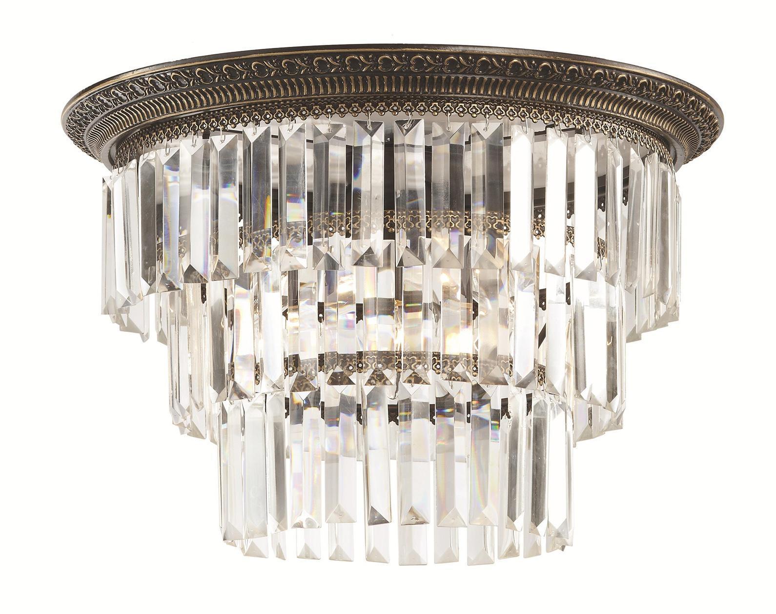 Потолочный светильник ST-Luce. SL133.402.06SL133.402.06Люстра SL133.402.06 - выполнена в классическом стиле. Для изготовления этой модели были использованы высококачественные материалы, такие как металл и стекло. Световой поток, направленный вниз, не создает теней и дает хорошее яркое освещение вашей комнаты.