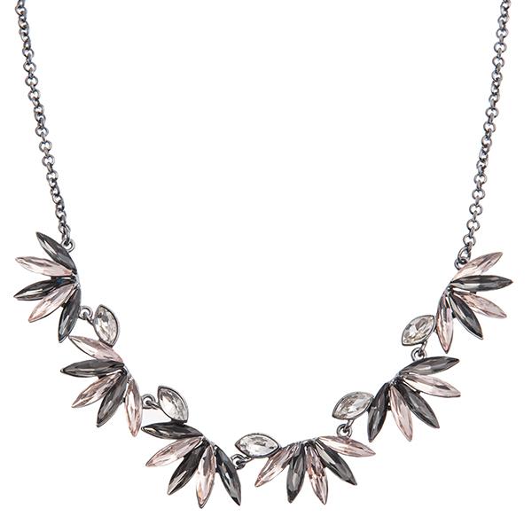 Колье Selena Holiday, цвет: розовый, серый. 1007902110079021