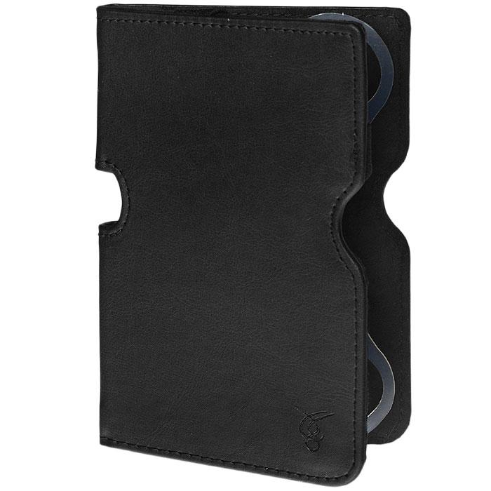 Vivacase Smart чехол-обложка для PocketBook 650, Black (VPB-P6SM01-bl)VPB-P6SM01-blЧехол-книжка Viva Smart - это яркий защитный аксессуар для удобного использования и транспортировки планшета. Чехол сохраняет привлекательность корпуса устройства и предотвращает появление мелких механических повреждений в результате повседневной эксплуатации и перевозки планшета. Накидная резинка обеспечивает дополнительную защиту устройства от выпадения.
