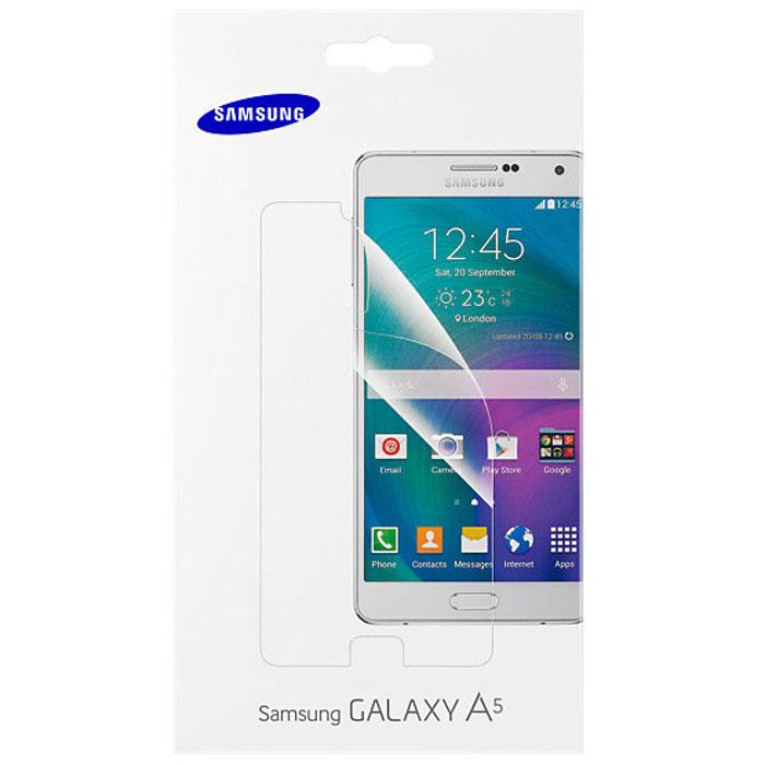 Samsung ET-FA500C защитная пленка для Galaxy A5 (2 шт.)ET-FA500CTEGRUЗащитная плёнка Samsung ET-FA500C сделана специально для Samsung Galaxy A5. Она защищает экран от повреждений и пыли, а также продлевает время жизни устройства благодаря защите дисплея от выгорания на солнце. Легко приклеивается и так же просто удаляется, не оставляя следов.