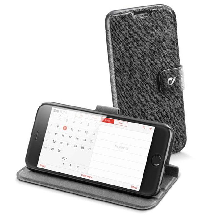 Cellular Line Vision Slim чехол-подставка для iPhone 6 Plus (22217)VISIONSLIMIPH655KCellular Line Vision Slim для iPhone 6 Plus предназначен для защиты корпуса смартфона от механических повреждений и царапин в процессе эксплуатации.