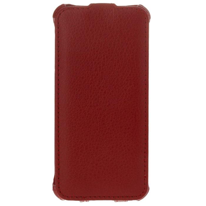 Cellular Line Flap чехол для iPhone 5, Red (17113)FLAPIPHONE5RФлип-чехол Cellular Line Flap для iPhone 5 предназначен для защиты устройства от механических повреждений и влаги. Имеет свободный доступ ко всем разъемам телефона.