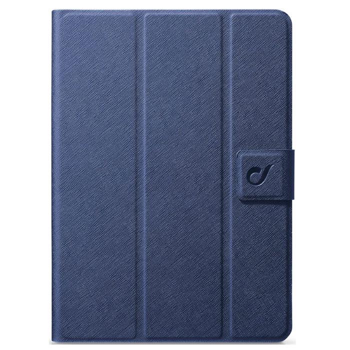 Cellular Line Folio чехол для iPad Air 2, Blue (22414)FOLIOIPAD6BЧехол Cellular Line Folio для iPad Air 2 позволяет сохранить устройство в идеальном состоянии. Надежно удерживая технику, обложка защищает корпус и дисплей от появления царапин, налипания пыли. Имеет свободный доступ ко всем разъемам устройства.