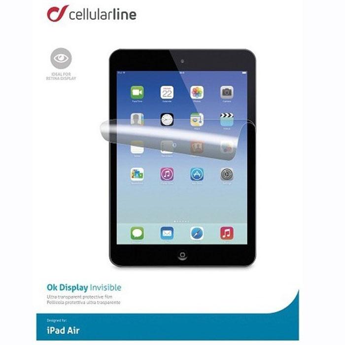 Cellular Line Ok Display защитная пленка для iPad Air (18394)SPIPAD5Cellular Line Ok Display защитная пленка для iPad Air предназначена для защиты экрана устройства от механических повреждений и царапин в процессе эксплуатации.