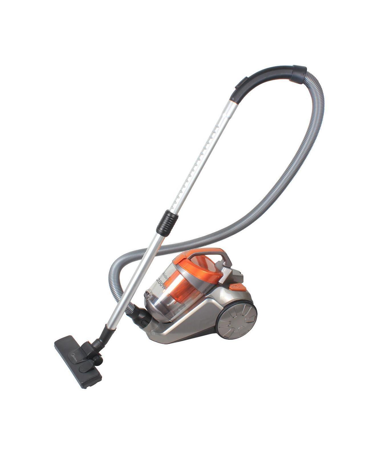 Midea VCS43С2 пылесос1.195-202.0Пылесос Midea VCS43C2 создан для того, чтобы сделать процесс уборки быстрым и легким. С ним не составит труда очистить пыль даже из самых потайных уголков вашей квартиры. Благодаря небольшому размеру для пылесоса наверняка найдется место в шкафу.
