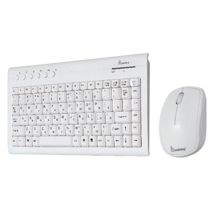 Smartbuy SBC-20313AG-W, White клавиатура + мышь